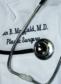 Dr. Mayield bio, board certified plastic surgeon